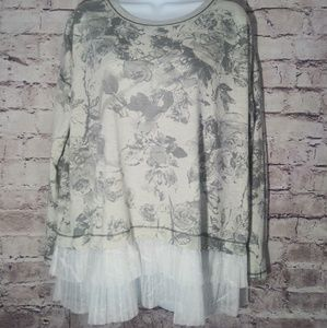 Hem and thread blouse
